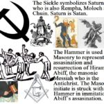Freemasonic sickle