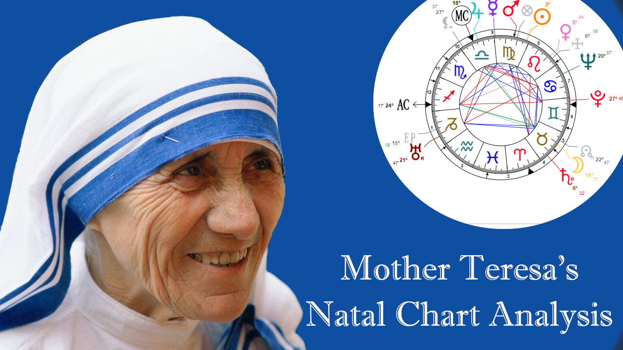Mother Teresa's Natal Chart Analysis – What It Reveals About Her Character and Life