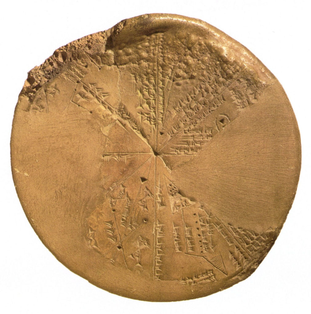 An Assyrian star map