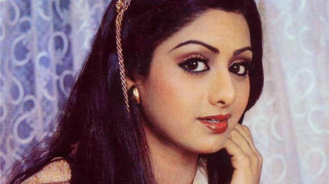 Sridevi, late Bollywood actress