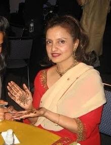 Rekha's mother.