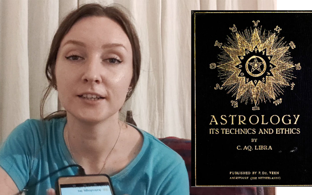 Old Astrology Book  (Occult Planetary Information) – Introduction