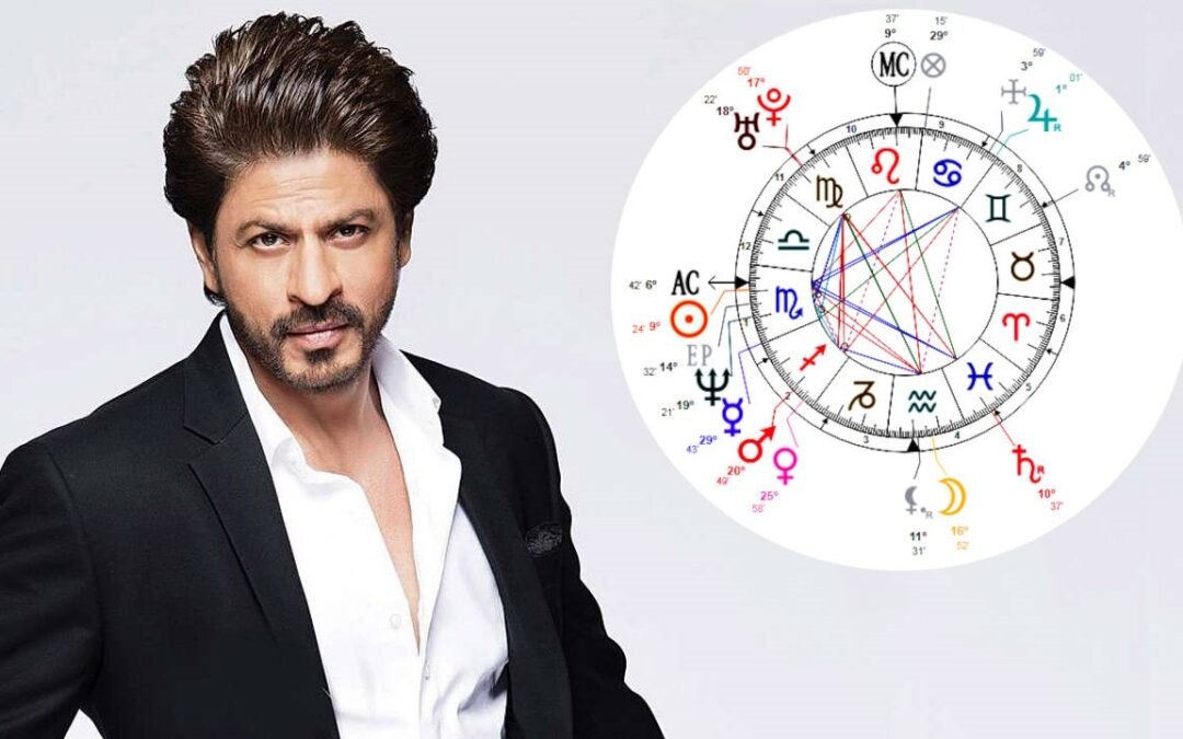Shahrukh Khan's Astrology – His Birth Chart Reading (Western)