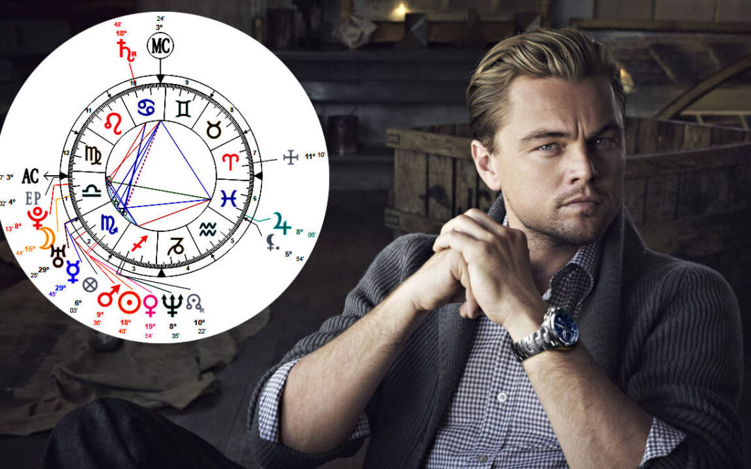 Leonardo DiCaprio's Astrology – Birth Chart Reading