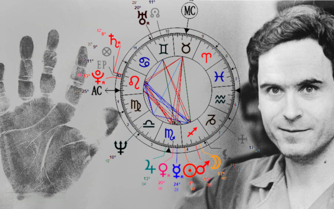 Ted Bundy's Astrological and Palm Analysis