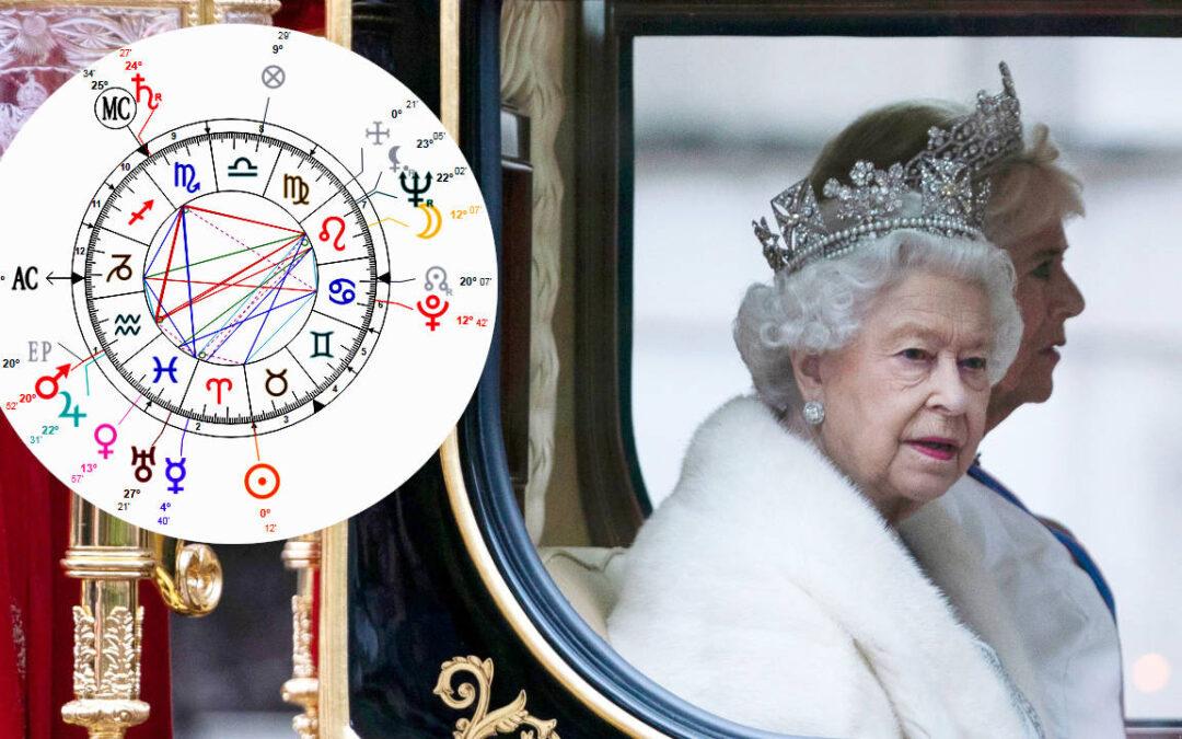 Queen Elizabeth's Astrology – Birth Chart Reading